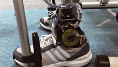 [과학뉴스] 기계연, 움직임 자유로운 발목형 로봇 의족 개발