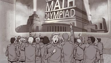 [수학소설 I 멋진 신세계] 신세계 수학경시대회