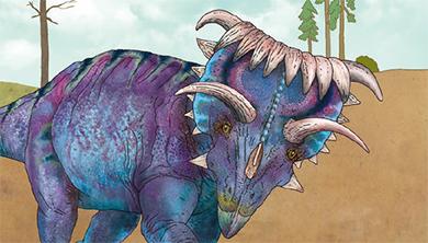 [공룡은 왜?] 뿔만 봐도 다 알아! 코스모케라톱스의 화려한 뿔