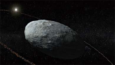 [과학뉴스] 왜행성 '하우메아'서 고리 발견