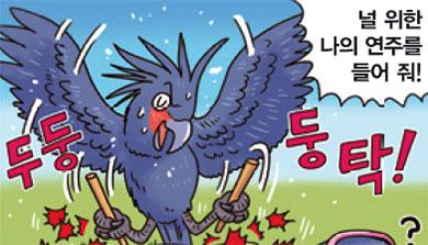 [가상인터뷰] 둥둥~, 북 치는 앵무새!