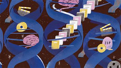 [Future] DNA에 사진 담고 원자에 영화 담는 차세대 메모리