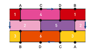 Part 5. [튤립 정원] 클라인 병 지도 색칠하기