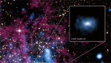 [과학뉴스] 우리 은하 중심부에 블랙홀 1만 개