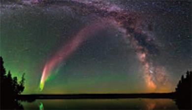 [과학뉴스] 아마추어 천문가들, 새로운 오로라를 발견하다!
