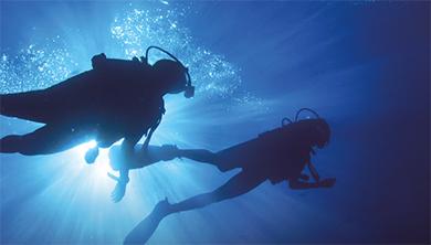 탐루엉 동굴 조난 사고의 기적, 생명을 구한 잠수의 기술