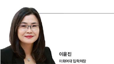 """이윤진 이화여대 입학처장 - """"자신의 역량 집중할 전형 찾아야"""""""