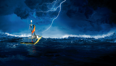 Part 2. 바다에서 폭풍을 기다린다! 웨이브 글라이더