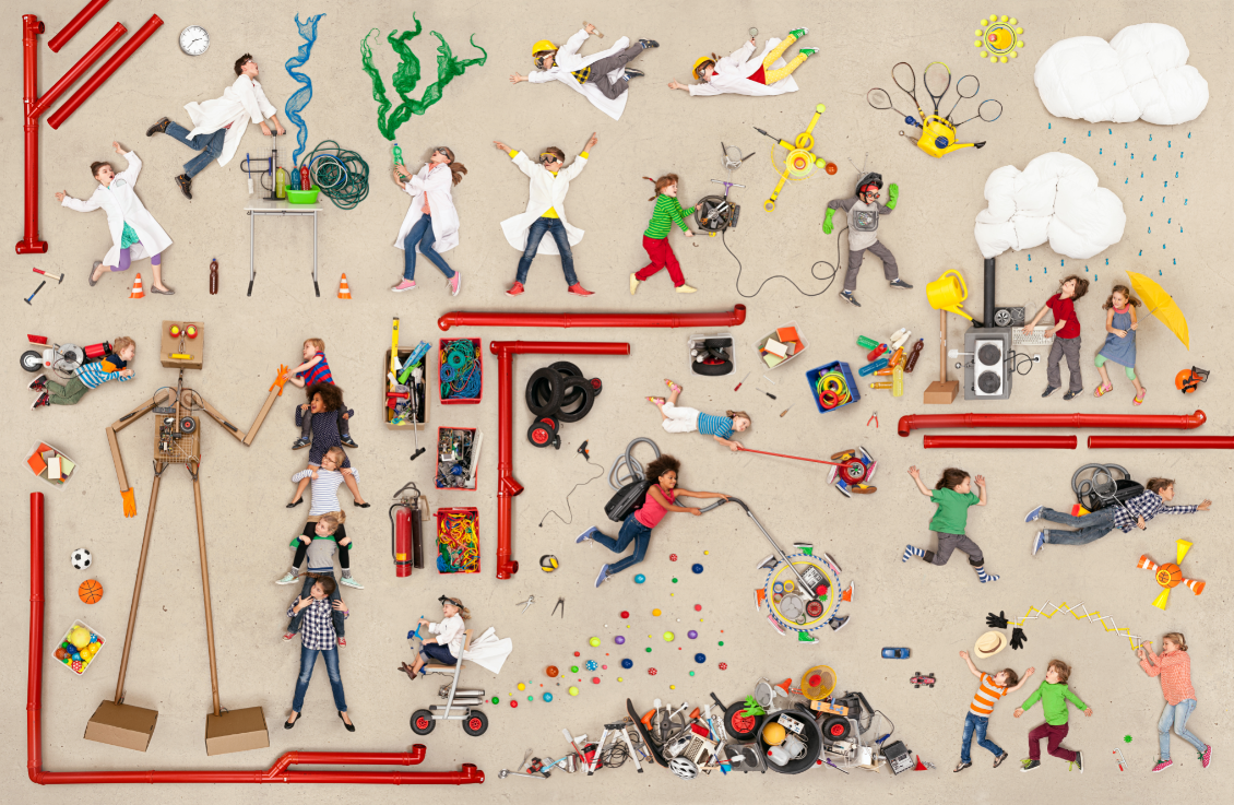 [화보] 놀이하는 인간 '호모 루덴스'의 하루
