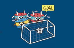 인공지능 선수는 어떻게 골을 넣을까?
