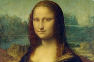 레오나르도 다빈치의 멋진 작품은 사시 덕분?!