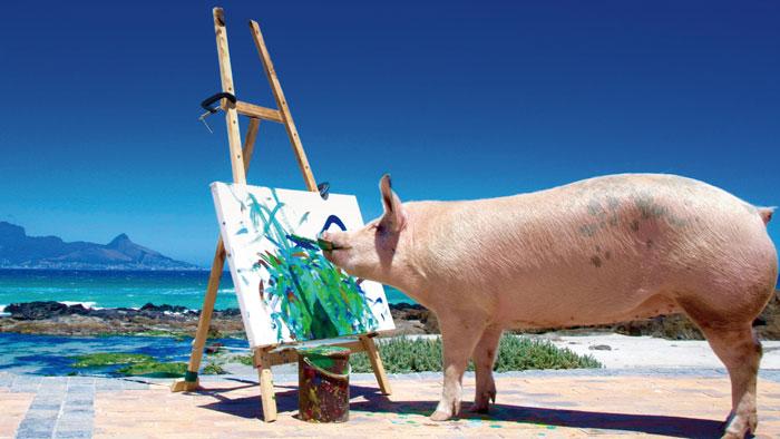 Part 3. 변신 3- 누가 돼지를 둔하다고 했나 감각적인 돼지