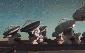 한국우주전파관측망(KVN) 구축 10주년 4개의 눈으로 우주를 보다