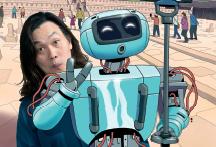 로봇에게 희로애락이란 프로그래밍에 의한 반응일 뿐