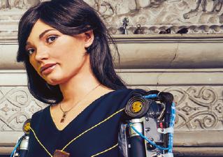 [과학뉴스] 세계 최초 휴머노이드 로봇 화가, 단독 전시 연다!