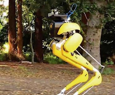 [과학뉴스] 두 발 로봇 '캐시', 전동 슈즈를 신다!