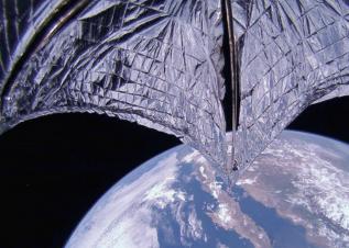 [과학뉴스] 우주를 여행하는 돛단배
