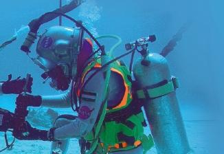 도전1 바다에서 우주 탐사 연습하기