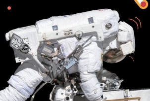 세계 최초 여성 우주인만의 유영 임무 완수!