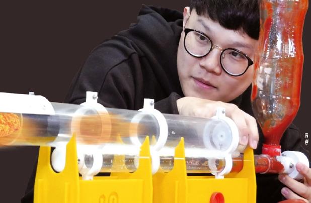[ 과학동아 X Geekble] 치킨 발사기! 맹맹한 프라이드 치킨에 허니콤보 소스를 입혀주마