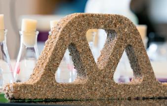 [한페이지 뉴스] 모래+박테리아=살아있는 콘크리트?