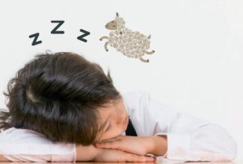 잠이 부족한 초등학생들!