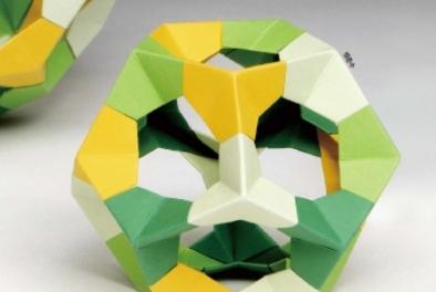 [수학체험실] 정삼각형으로 만드는 다면체, 핵심은 정삼각형의 무게중심!