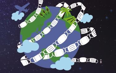 매월 1290억개 마스크 쓰레기, 어떻게 처리할까?