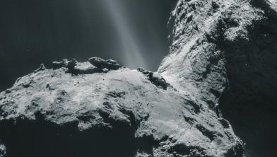 [한 장의 과학] 원자외선 오로라가 반짝반짝! 혜성에서 최초 발견