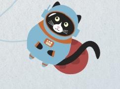 [SF소설] 날아올라라, 우주 고양이 나비