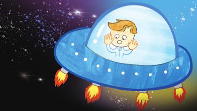 [우주순찰대원 고딱지] 3화. 지명 수배자 삐뚤란을 찾아 그렁그렁 행성으로 출동!