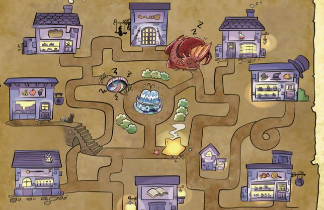 [퍼즐마법학교] 없는게 없다! 옴니스 거리