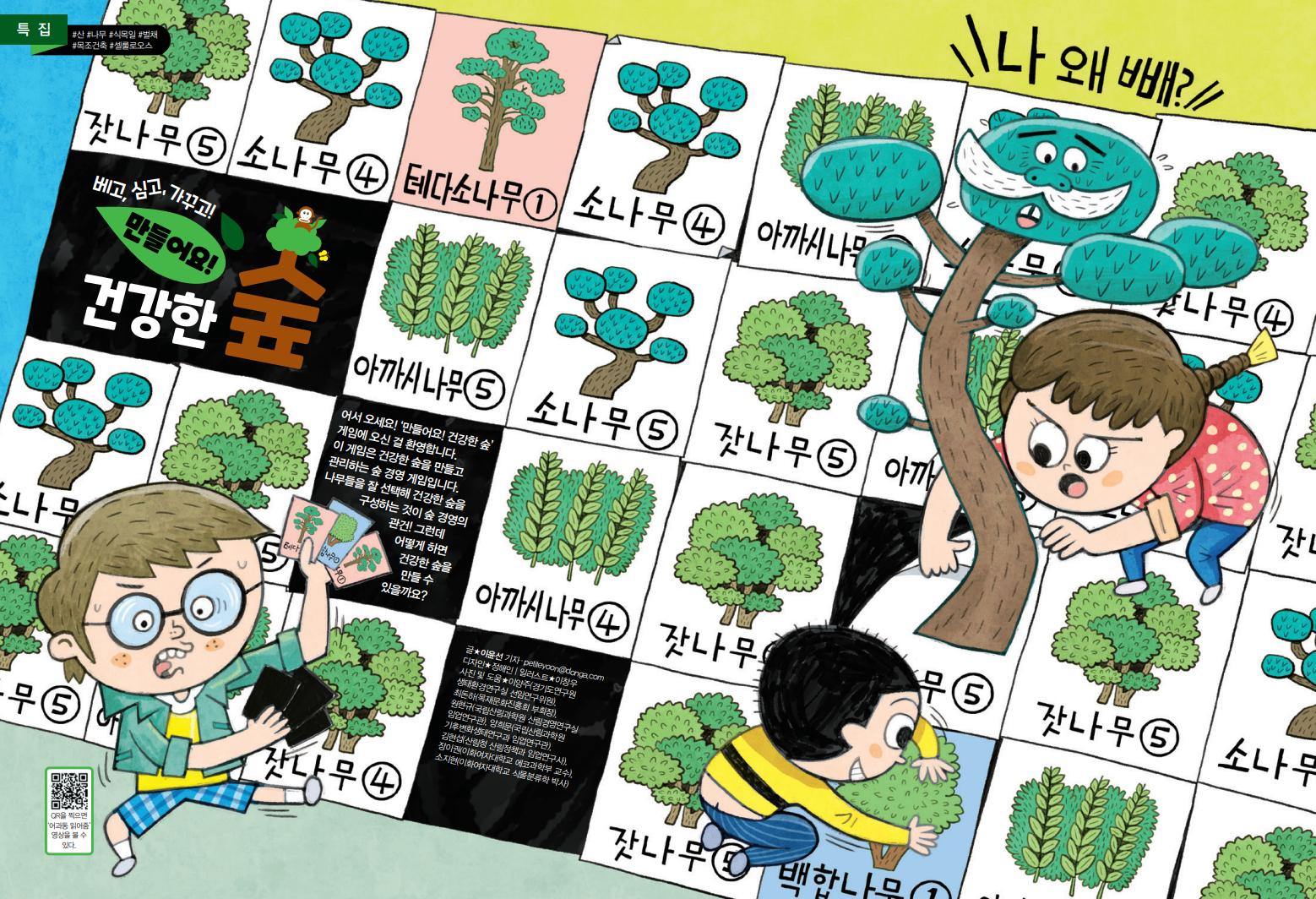 [특집] 베고,심고,가꾸고! 만들어요! 건강한 숲
